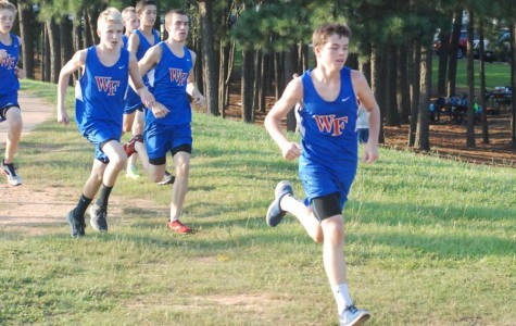 Young cross country runners contribute and give hope for future of program