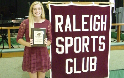 Cunningham honored by Raleigh Sports Club