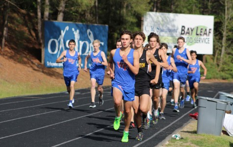WF has strong showing at county meet