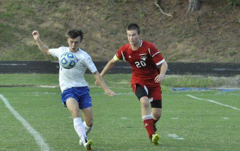 Boys' soccer pushes through conference season