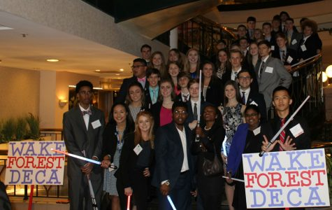28 out of 45 DECA participants qualify for nationals