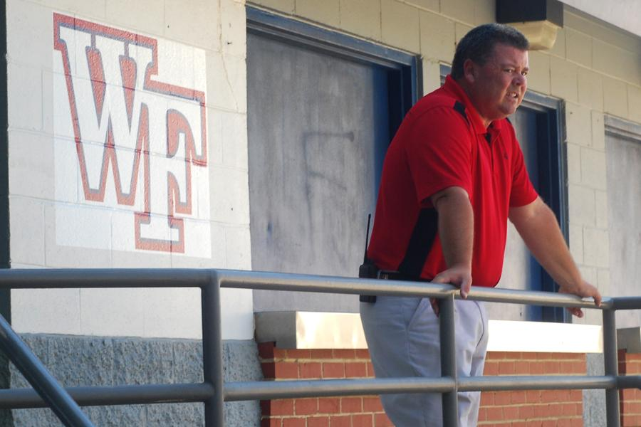 Coach Mike Joyner served as athletic director at Smithfield-Selma for eight years.