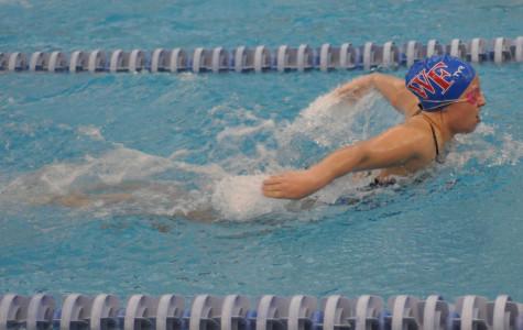 Girls' swimming is winning