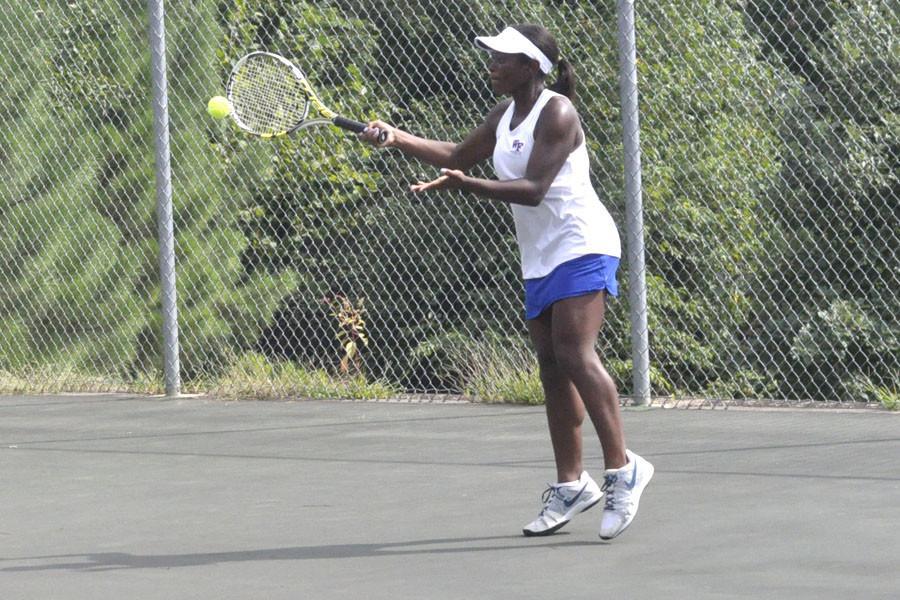Girls%27+tennis+continues+progress+against+tough+Cap-8