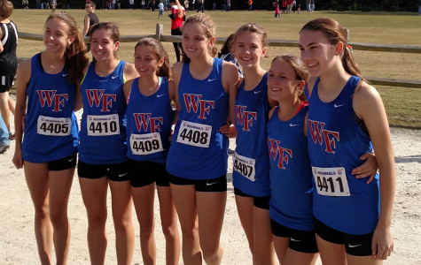 Girls' cross country takes 9th at states
