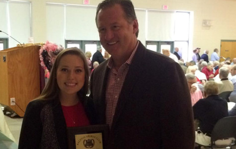 Blalock third WF athlete honored by Raleigh Sports Club