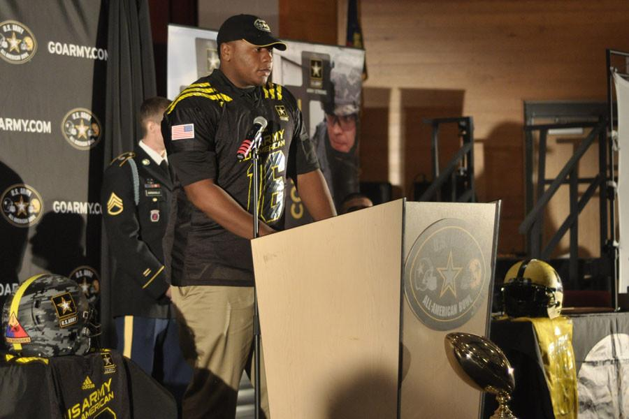Dexter Lawrence will play in the U.S. Army All-American bowl Jan. 9, 2016 in San Antonio, TX.