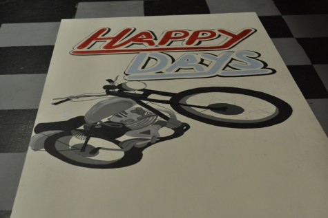 Theater crew prepares for Happy Days