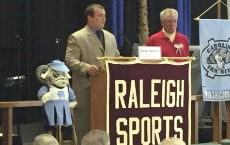 Senior Brandon Locklear honored by Raleigh Sports Club