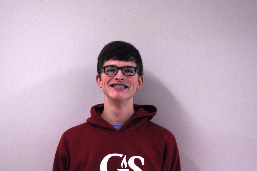 Senior Coltan Compton develops Vocal Music passion at Governor's School