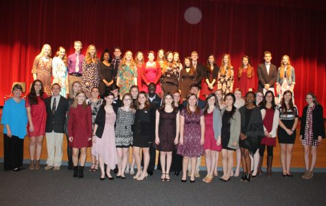 Tri-M Music Honor Society new inductees