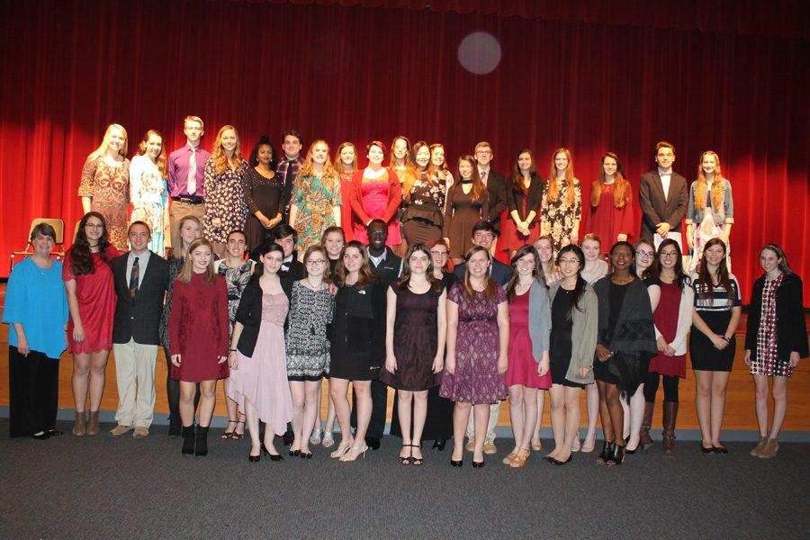 Tri-M+Music+Honor+Society+new+inductees