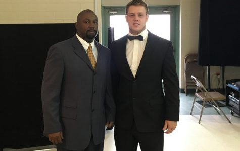 Raleigh Sports Club honors Cougar linebacker