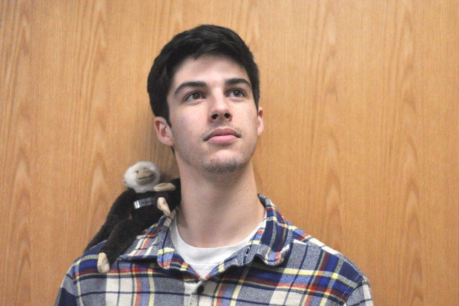 Senior Joe Haston develops English passion at NC Governor's School