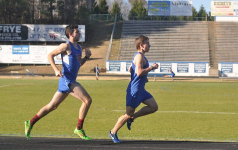 Spring Track team prepares for upcoming season