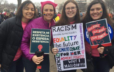 Women's March unites students sharing similar goals