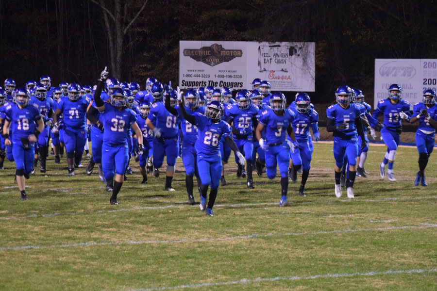 The Cougars take the field Dec. 1 to face off with the Garner Trojans   for the Eastern Regional final. The Cougars also defeated Garner to face Mallard Creek in 2014.
