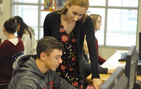 Former student Sarah Larsen returns to teach