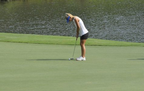 Girls' Varsity Golf finishes 4th in conference