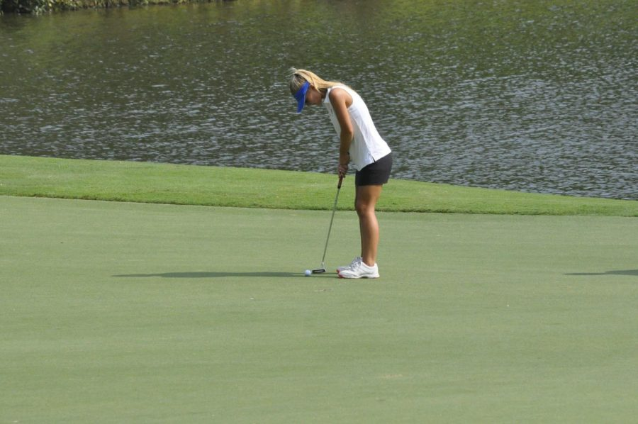 Girls Varsity Golf finishes 4th in conference