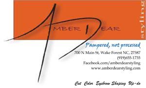 Amber Dear Advertisement