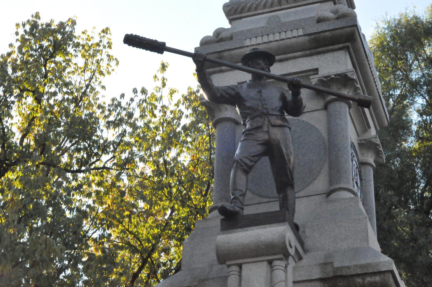 This monument is on the capital grounds in Raleigh, N.C. This commemorates the state's role in the Civil War.