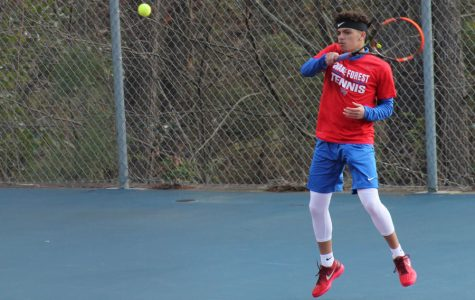 Tennis captures conference title
