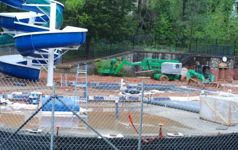 Town Pool project nears completion
