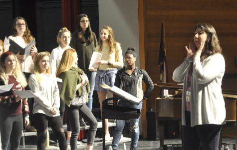 Chorus students earn superior rating