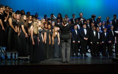 Chorus concert features area schools