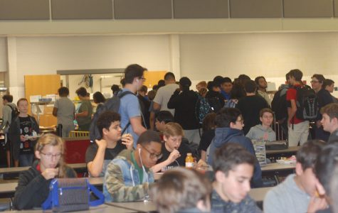 Students support lunch change