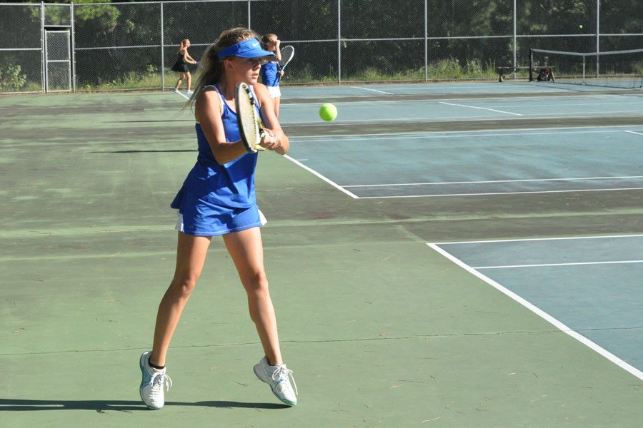 Girls' Tennis wraps up the season as a state qualifier
