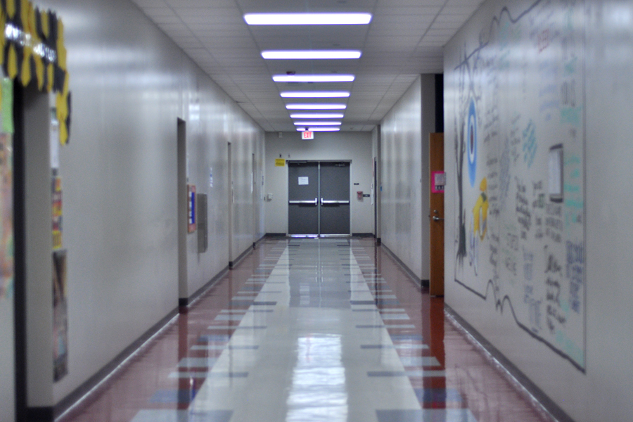 In keeping our PRIDE, we'd like to see our students staying Punctual and our halls empty right after every bell
