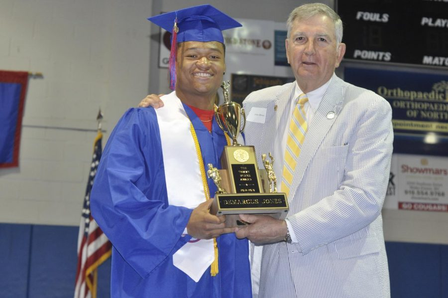 Senior athletes honored by Athletic Department