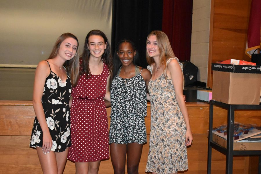 Girls' track athletes awarded All-Conference honors