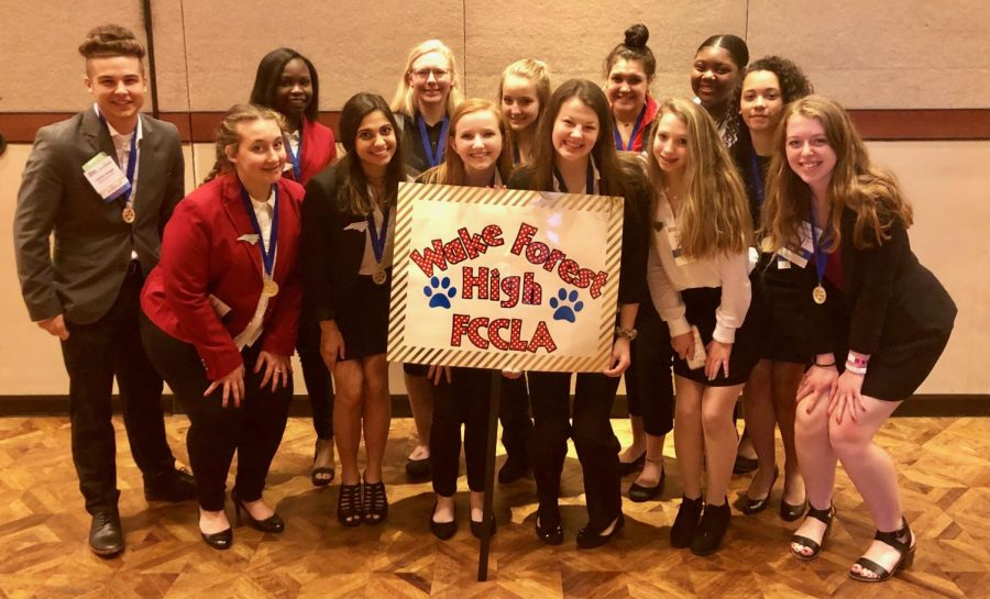 FCCLA students bring home the gold