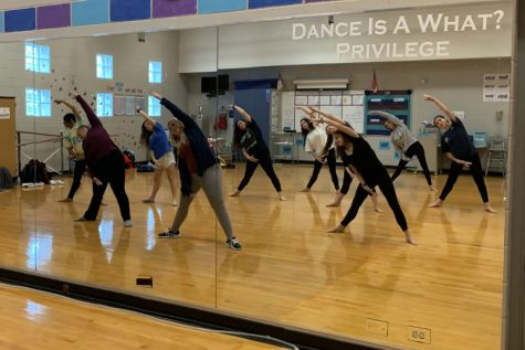 Hoy embarks on career as WF dance teacher