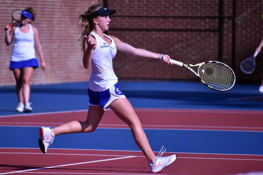 Tennis Completes Season Third in NAC-6