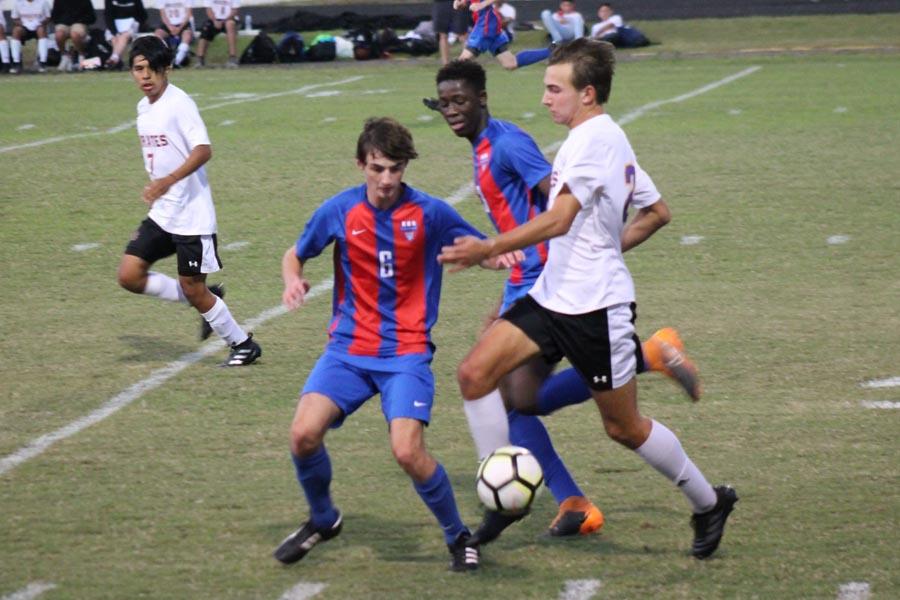 Photo Gallery: Soccer 10/10 versus Corinth Holders