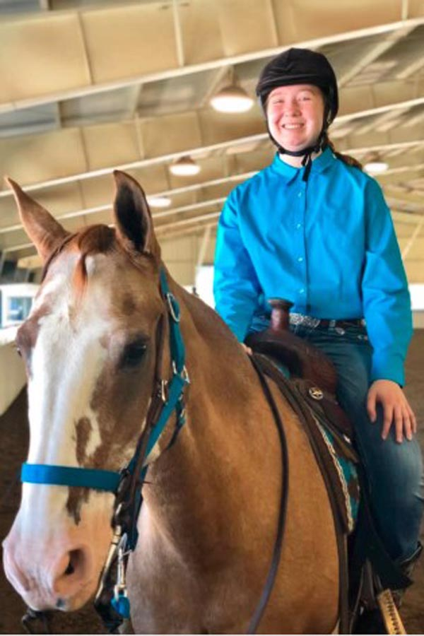 McKenna Priebe Competes in State-wide Equestrian Competition