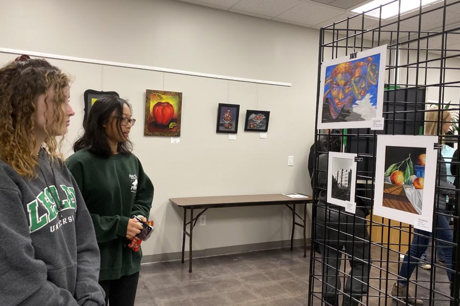 Local Center Opens up for Young Artists' Work