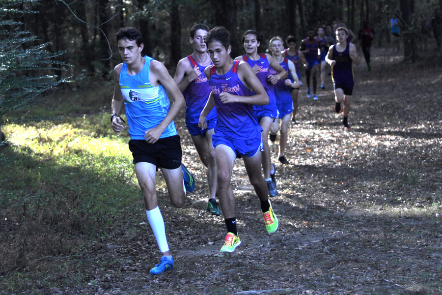 Boys' Cross Country Takes Conference Title