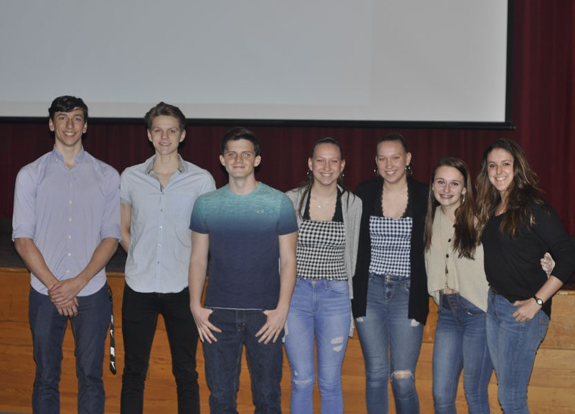 Winter Athletes Celebrated at Banquet