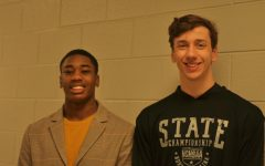 Navigation to Story: 10 Questions with Senior Swimmers Gideon and Melvin