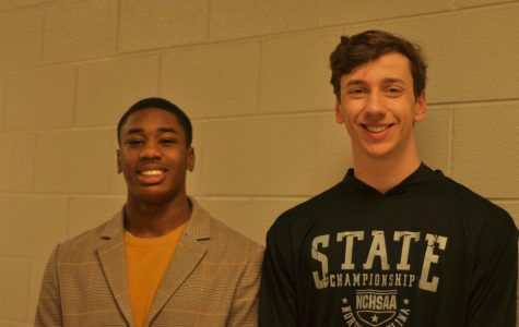 10 Questions with Senior Swimmers Gideon and Melvin