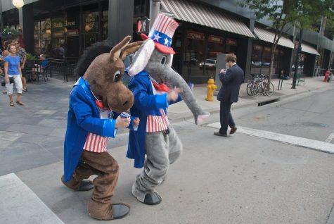 """""""Donkey & Elephant promoting MSNBC"""